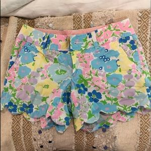 Scallop Lilly Pulitzer shorts